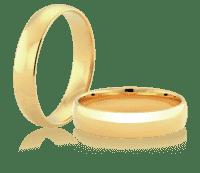 a6d4bac0f80fee Obrączki ślubne z białego i żółtego złota, klasyczne i z brylantem ...