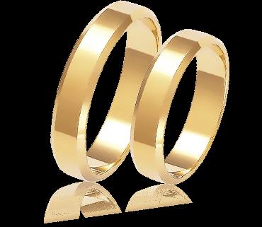 a6bbf195dac3b5 Obrączki ślubne z żółtego złota klasyczne i z brylantem – AURORIA ...